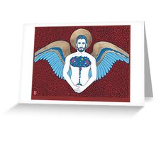 Guardiam Angel Greeting Card