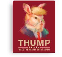 Donald Thump Canvas Print