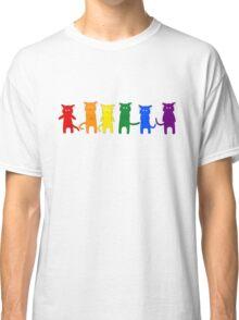 Rainbow Cats Classic T-Shirt