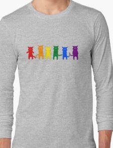 Rainbow Cats Long Sleeve T-Shirt