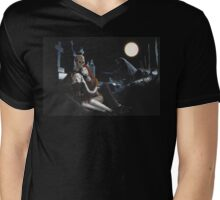 Jack And Sally Mens V-Neck T-Shirt