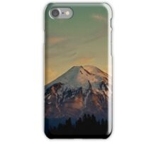 Mount Saint Helens at Sunset Before the Eruption iPhone Case/Skin