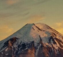 Mount Saint Helens at Sunset Before the Eruption Sticker