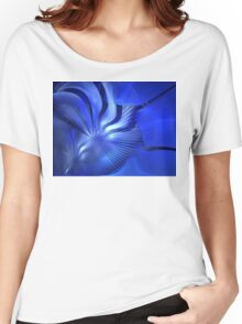 Sea Waves Women's Relaxed Fit T-Shirt