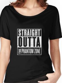 Straight Outta The Phantom Zone Women's Relaxed Fit T-Shirt