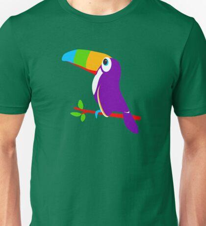 Toucan bird colorful art graphic Unisex T-Shirt