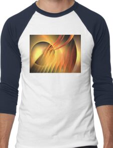 Martian Sunset Men's Baseball ¾ T-Shirt