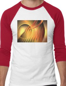 Martian Sunset Men's Baseball ¾ T-Shirt