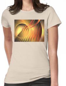 Martian Sunset Womens Fitted T-Shirt