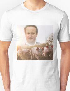 David Cameron/Pig Field T-Shirt
