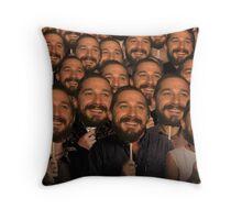 Shia LaBeouf Throw Pillow