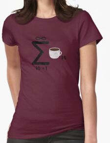 Infinite Coffee Womens Fitted T-Shirt