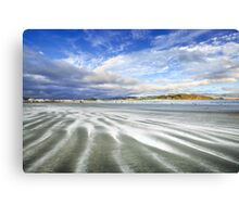 Lyall Bay in Streaks Canvas Print