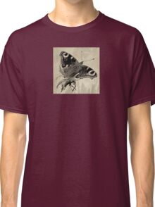 Wetnose Butterfly, Peacock Sepia Classic T-Shirt