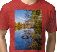 Peaceful Autumn Tri-blend T-Shirt