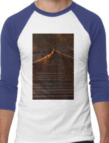 Down the Track -Sunset Men's Baseball ¾ T-Shirt
