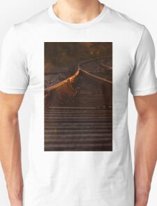 Down the Track -Sunset Unisex T-Shirt