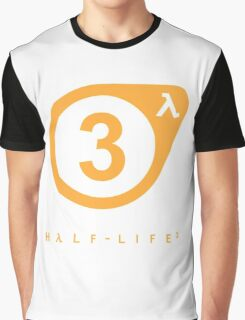 Half-Life - HL3 Confirmed w/ Lambda Graphic T-Shirt