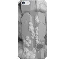 Azurite with Conichalcite/Austinite SEM iPhone Case/Skin