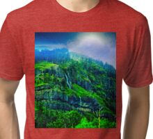 Scenic Highway 30 - Approaching Storm Tri-blend T-Shirt