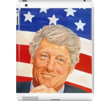 President-elect of the United States Bill Clinton iPad Case/Skin