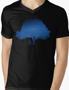 Beneath the Bodhi tree Mens V-Neck T-Shirt