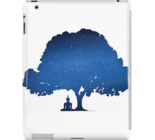 Beneath the Bodhi tree iPad Case/Skin