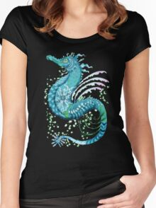 Winter Seahorse Women's Fitted Scoop T-Shirt