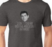Driving Moccasins Unisex T-Shirt