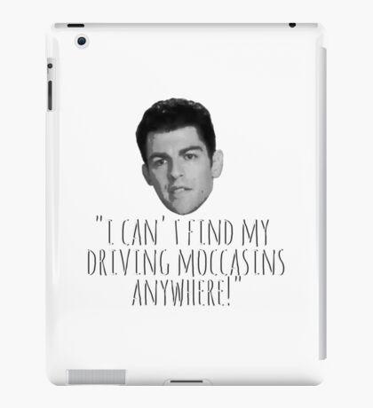 Driving Moccasins iPad Case/Skin