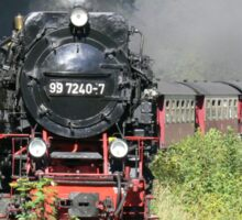 Steam train  Sticker