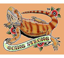"""""""Going Strong Bearded Dragon"""" Photographic Print"""