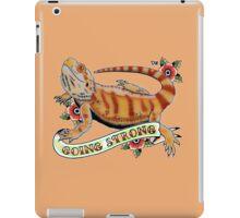 """Going Strong Bearded Dragon"" iPad Case/Skin"