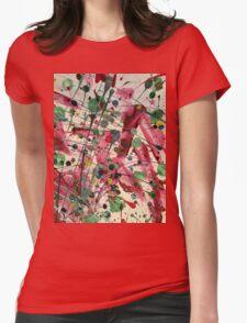 Paint Splatter Part 1 Womens Fitted T-Shirt