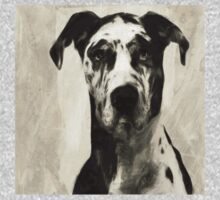 Wetnose Great Dane Sepia Kids Tee