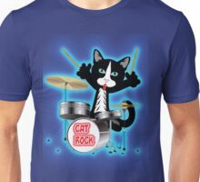 Cat Rock Drums Unisex T-Shirt