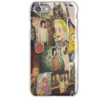 Drop Dead backdrop iPhone Case/Skin