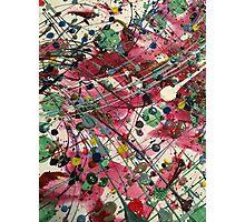 Paint Splatter Part 2 Photographic Print