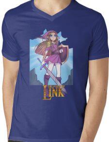 LEGEND OF LINK Mens V-Neck T-Shirt