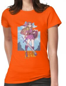 LEGEND OF LINK Womens Fitted T-Shirt