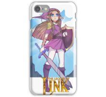 LEGEND OF LINK iPhone Case/Skin