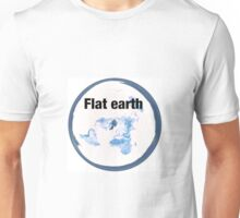 Flat earth time for the truth Unisex T-Shirt
