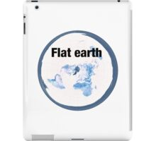 Flat earth time for the truth iPad Case/Skin
