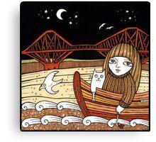 Flos Firth Fishing Boat Canvas Print