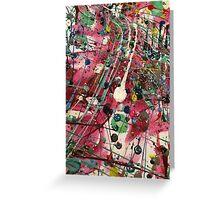 Paint Splatter Part 3 Greeting Card