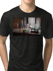 Science - Chemist - Chemistry Equipment  Tri-blend T-Shirt