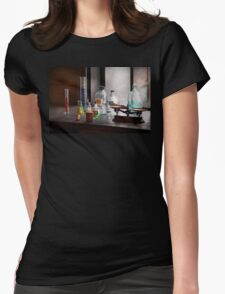 Science - Chemist - Chemistry Equipment  Womens Fitted T-Shirt