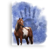 Ethnic Horse Canvas Print