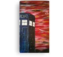 Dr. Who TARDIS Canvas Print