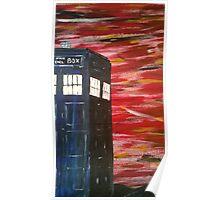 Dr. Who TARDIS Poster